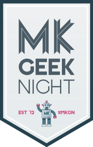 MK Geek Night logo